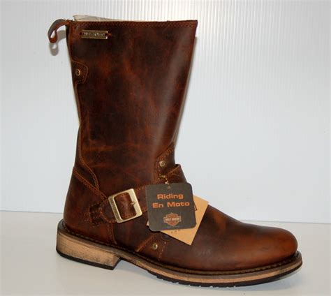 harley riding shoes harley davidson quot jayden quot mens riding boots d95349 brown ebay