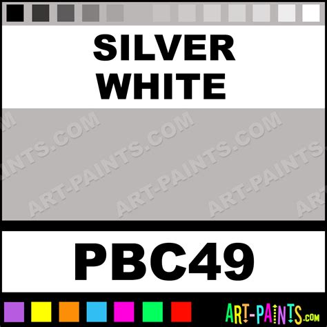 silver white pearls airbrush spray paints pbc49 silver white paint silver white color