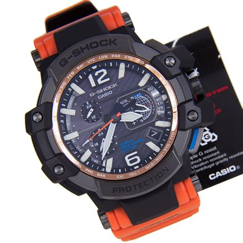 casio g shock gpw 1000 orange casio g shock gravitymaster gps hybrid wave ceptor
