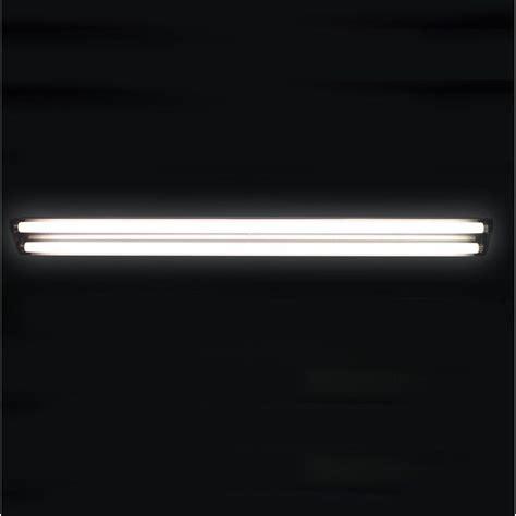 4 T8 Light Fixture 48 In Fluorescent Shop Light 4 Ft T8 In Black Fixture Fixtures