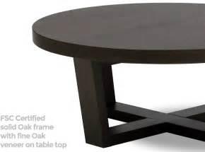 Tamma round coffee table 100 cm