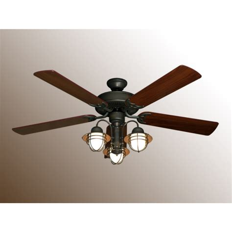 nautical ceiling fans 52 quot nautical ceiling fan with light bermuda v 362