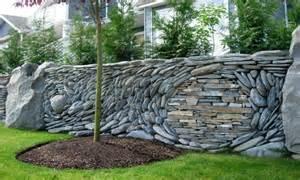 Retaining wall garden edging stone garden retaining wall ideas