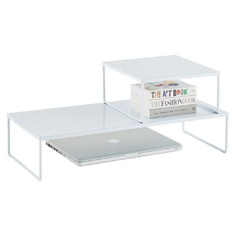 Franklin Desk Risers Desk Riser Desk Space And Counter Office Desk Risers