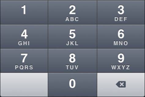 phone number letters the iphone s keyboards a visual catalogue