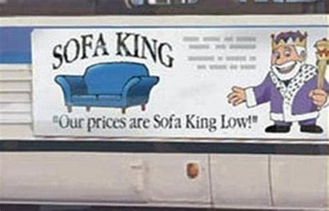 sofa king happy sofa king advert banned 8 years after first sparking