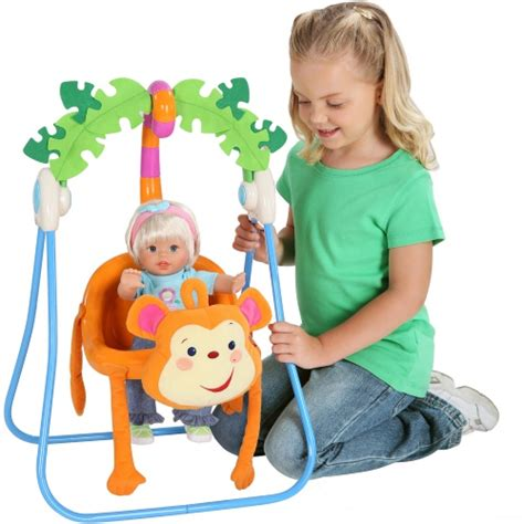 fisher price doll swing fisher price monkey swing baby doll accessories at hayneedle