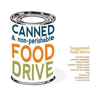 can food drive flyer template 29 palms underground and soul of our community