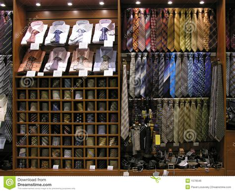 tie in shop royalty free stock image image 1579546