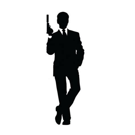 james bond silhouette james bond silhouette google search silhouette