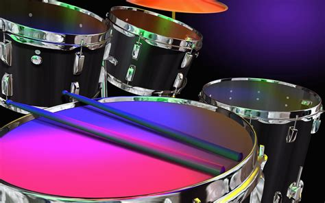 wallpaper laptop drums neon wallpaper neon colored drums wallpapers hd