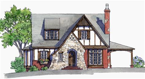 read honeymoon living large in a small tudor house plans southern living house plans