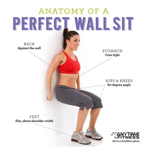 weight how to do sit perfect wall sit form workouts pinterest wall sits