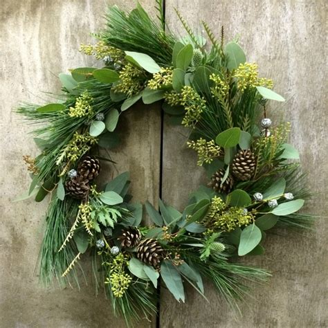 decorations wreath wreaths 75 ideas for festive fresh burlap or