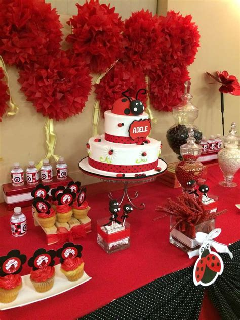 Ladybugs Baby Shower Theme by Ladybugs Baby Shower Ideas Photo 2 Of 10 Catch