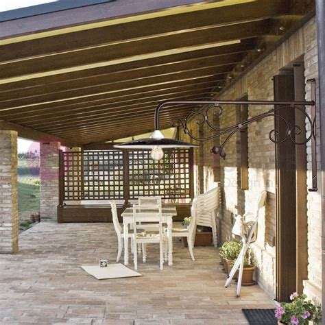 applique da esterno in ferro battuto borghetto lada parete rustica esterni ferro battuto