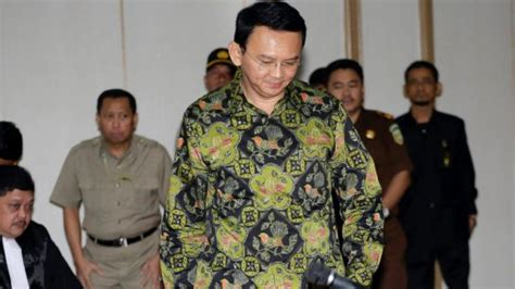ahok latest news jakarta s outgoing governor ahok may escape jail for