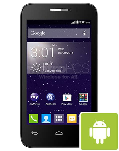 alcatel onetouch  evolve   android smart phone