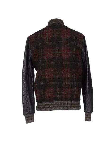 Roberto Bomber Jaket Anya Awkarin lyst roberto collina jacket in black
