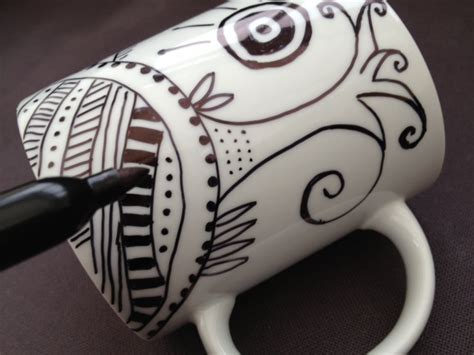 design your own mug with permanent marker teen craft sharpie mugs the community library