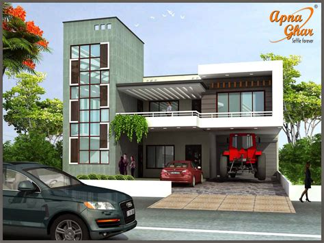 house design and pictures duplex house design apnaghar house design