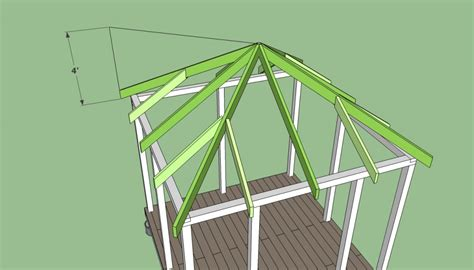 12x12 Hip Roof Plans How To Build A Gazebo Howtospecialist How To Build