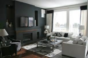 Black Living Room by 15 Inspiring Living Room Paint Ideas With Color