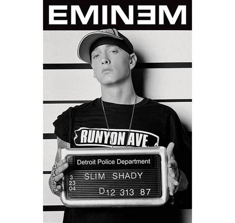 Detroit Arrest Records Eminem Poster Criminal Records Posters Buy Now In The Shop Up Gmbh