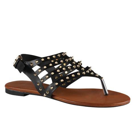 aldo shoes womens flats aldo barbara flat sandals in black lyst