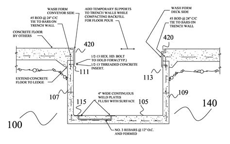 design washout definition patent us20060280558 carwash trench drain google patents