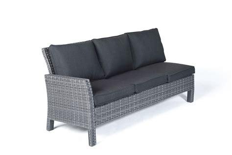 rattan sofa grau paddington rattan garden furniture dining lounge in mixed grey