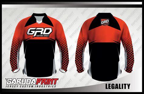 koleksi desain baju sepeda downhill mtb  garuda