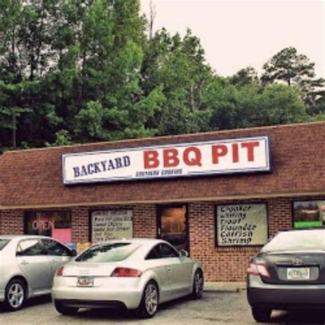 photos of backyard bbq pit durham restaurant images