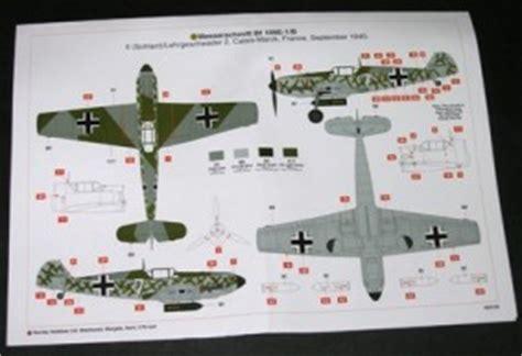 airfix messerschmitt bf 109e 1 e 3 and e 4 1 48 pg 2 scale modelling now