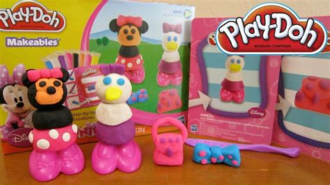 Play Doh Minnie Mouse Boutique Set Featuring Minnie Mouse play doh disney makeables set featuring minnie mouse duck by hasbro toys