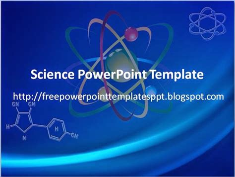 science template powerpoint free science powerpoint templates presentation
