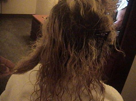 work program detangle hair techs