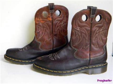 dr martens womens cowboy western boots 8 m uk 6 eur 39