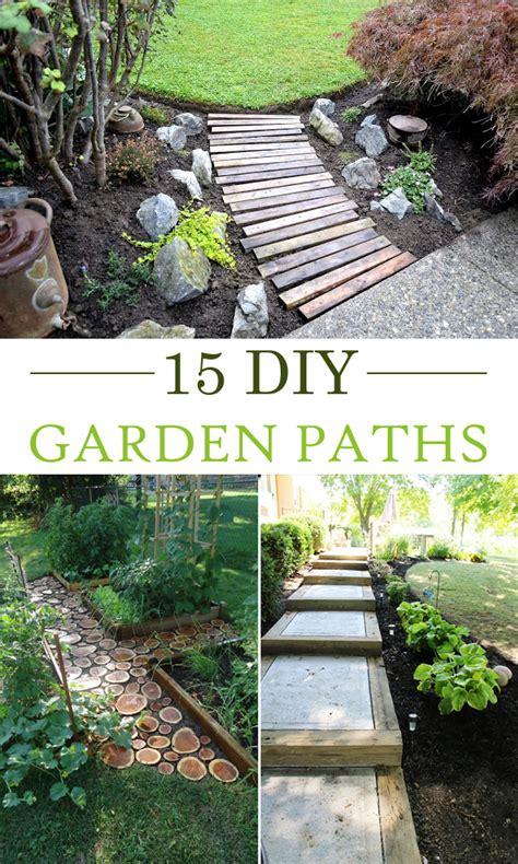 ideas for garden paths 15 creative diy garden path ideas