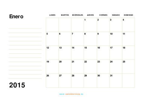 Calendario 2015 Para Imprimir Calendario 2015 Para Imprimir Gratis