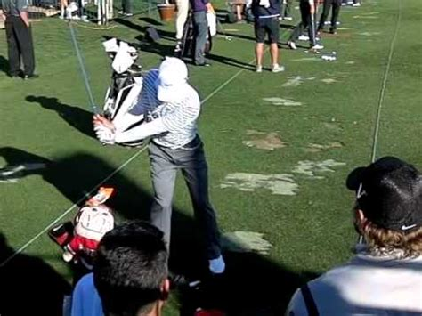 anthony kim swing anthony kim slow motion iron golf swing from driving range