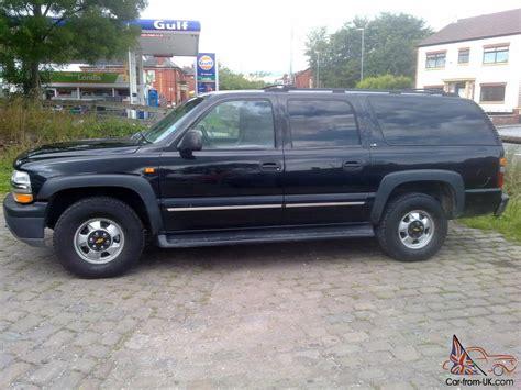 2001 chevy suburban 8 seater 4x4