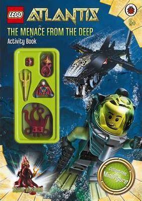 Lego Kw Warrior lego atlantis the menace from the activity book 9781409306269