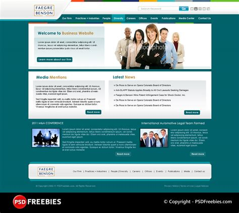 templates for music website free download corporate website psd template download download psd