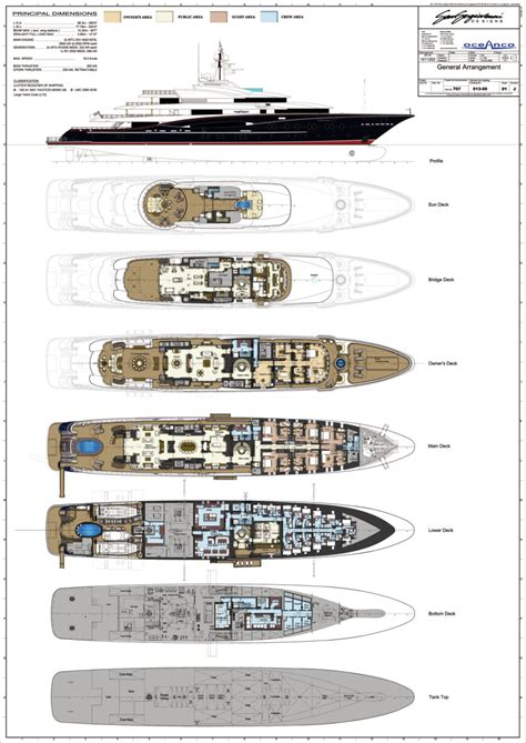 Nirvana Yacht Layout | oceanco nirvana engineered for enlightenment yachts