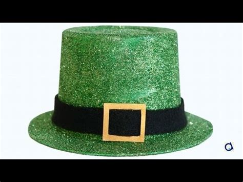 How To Make A Leprechaun Hat Out Of Paper - how to make a leprechaun hat
