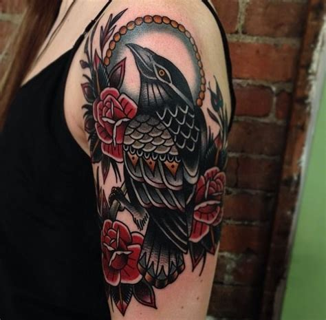 tattoo new school crow the 25 best ideas about crow tattoos on pinterest raven