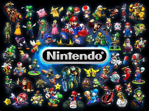 wallpaper game nintendo nintendo images nintendo characters hd wallpaper and