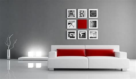 alphabet photos home decor design ideas living room
