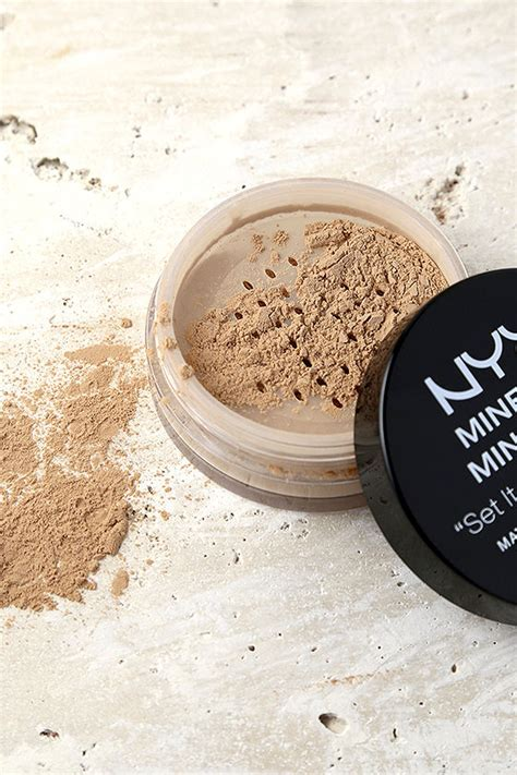 Nyx Mineral Matte Finishing Powder nyx medium mineral matte finishing powder medium